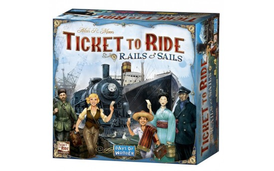 Ticket to Ride: Rails&Sails (Билет на поезд: Рельсы и паруса)