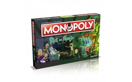 Monopoly: Rick and Morty (Монополия)