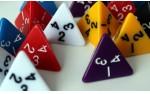 Фотография №479: Кубик d4 (dice d4)