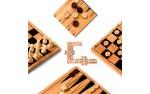 Фотография №1294: 5 в 1 (Шахматы, шашки, нарды)