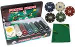 Фотография №2336: Покерный набор на 300 фишек с номиналом + сукно