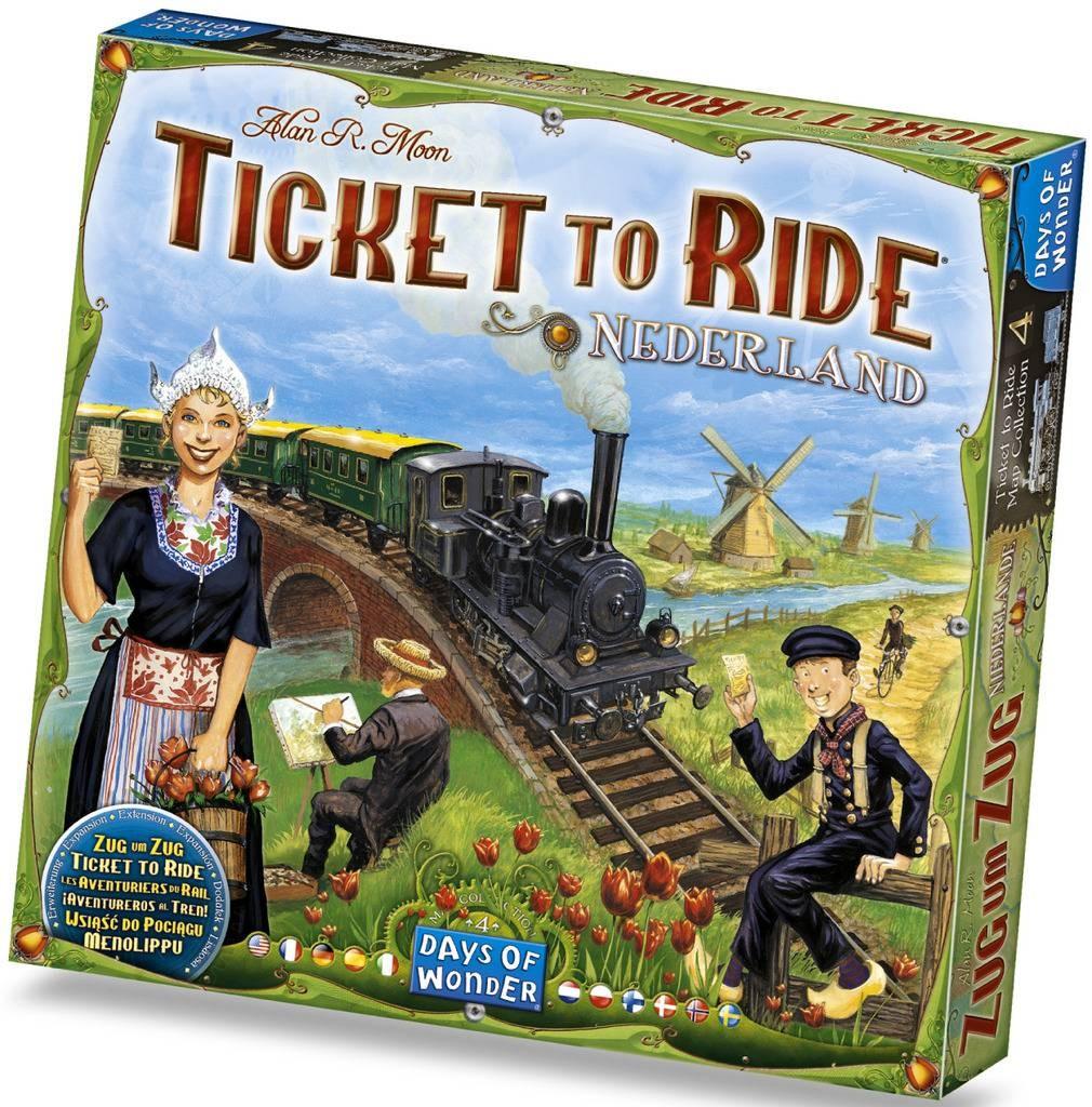 Билет на поезд: Нидерланды