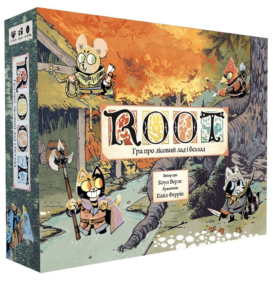 ROOT Гра про лісовий лад і безлад (Корни)
