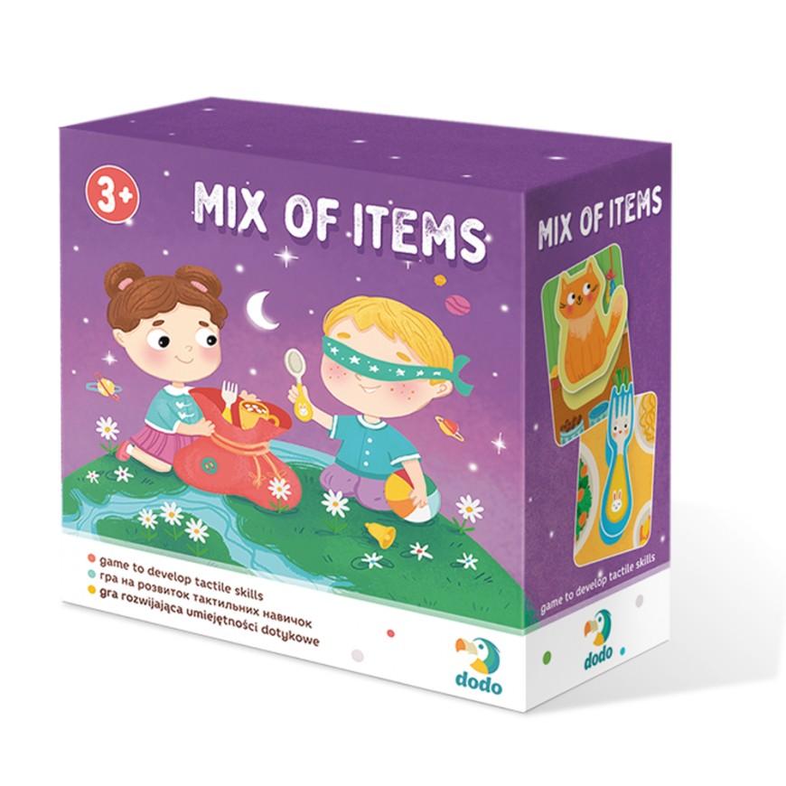 Тактильная игра: Микс предметов