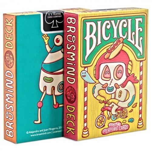 Карты игральные: Bicycle Brosmind