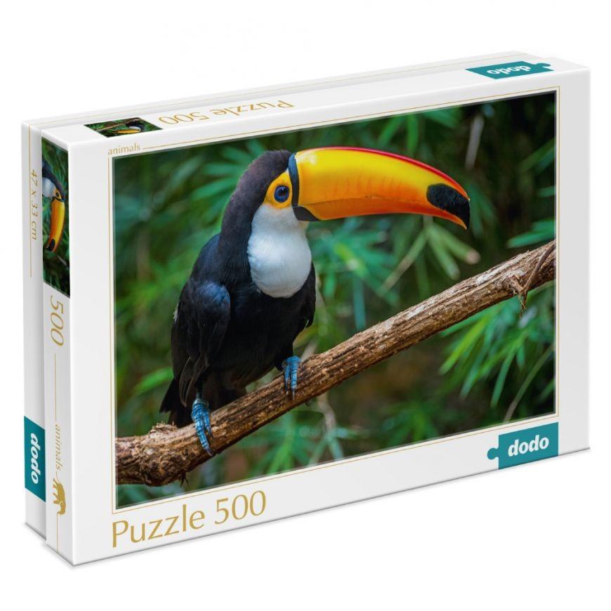 Пазл Птица Тукан. Бразилия