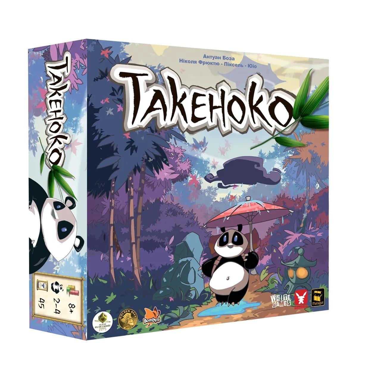 Настольная игра Такеноко. Юбилейное издание (укр)